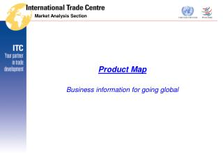 Product Map Business information for going global