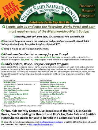 2011 Poster EARTH DAY v2