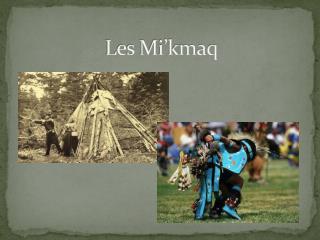 Les Mi'kmaq