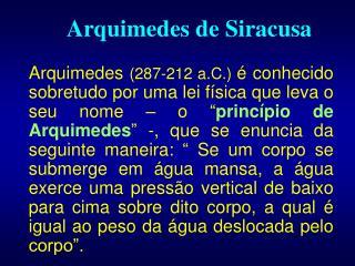 Arquimedes de Siracusa