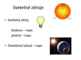 Sveteln� zdroje