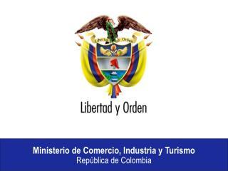 Retos y oportunidades  del caf  en  las negociaciones comerciales de Colombia     Jorge Humberto Botero Ministro de Come