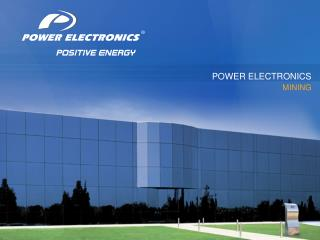 POWER ELECTRONICS MINING