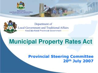 Municipal Property Rates Act