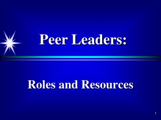 Roles and Resources