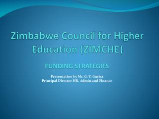 Zimbabwe Council for Higher Education ZIMCHE