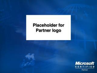 Placeholder for Partner logo