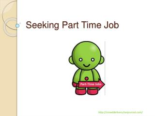 Seeking Part Time Job