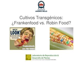 Cultivos Transgénicos: ¿Frankenfood vs. Robin Food?