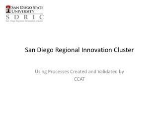 San Diego Regional Innovation Cluster