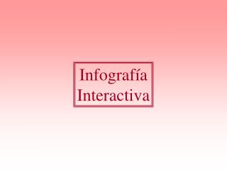 Infografía Interactiva
