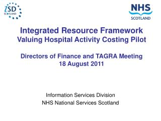Information Services Division NHS National Services Scotland