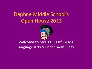 Daphne Middle School's  Open House 2013