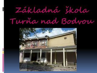 Základná  škola Turňa nad Bodvou