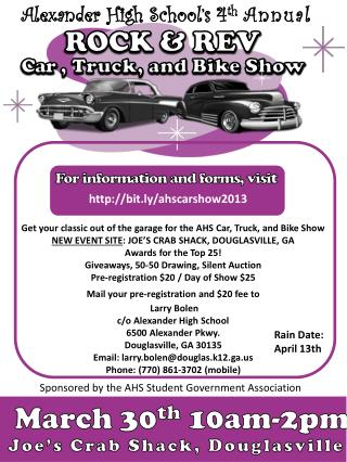 Car  , Truck, and Bike Show