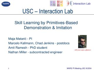 USC – Interaction Lab
