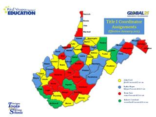 Title I Coordinator Assignments Effective  January 2013