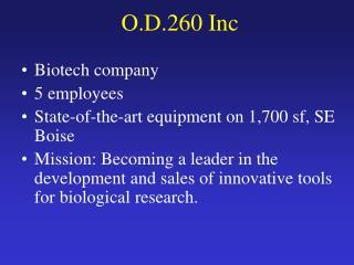 O.D.260 Inc