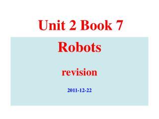 Unit 2 Book 7