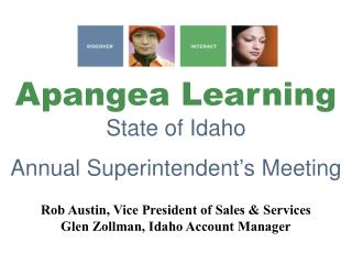 Apangea Learning  State of Idaho  Annual Superintendent s Meeting