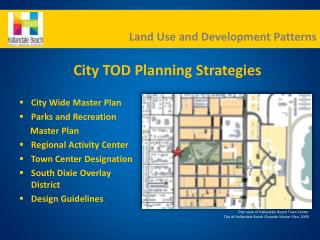 City Wide Master Plan Parks and Recreation      Master Plan Regional Activity Center