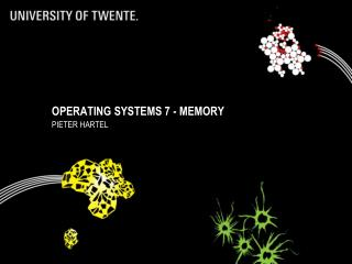 Operating Systems 7 - memory