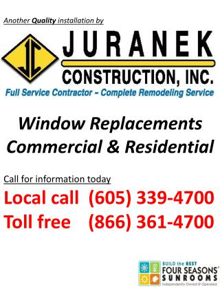 Window Replacements Commercial & Residential