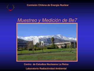 Muestreo y Medición de Be7