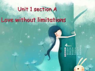 Unit 1 section A