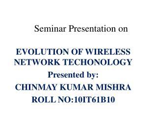 Seminar Presentation on