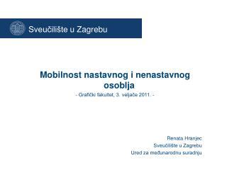 Sveu?ili�te  u Zagrebu