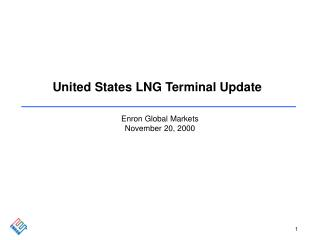 United States LNG Terminal Update