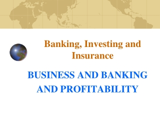 BANK MANAGEMENT   AND PROFITABILITY