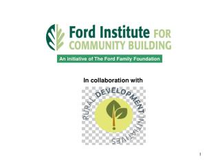An initiative of The Ford Family Foundation