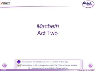 Macbeth Act Two