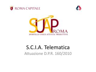 S.C.I.A. Telematica