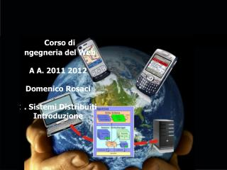Corso di Ingegneria del Web A A. 2011 2012 Domenico Rosaci 1. Sistemi Distribuiti Introduzione