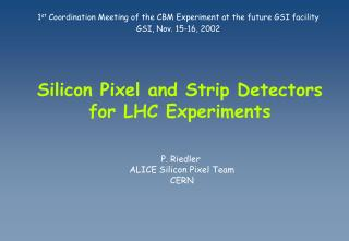 Silicon Pixel and Strip Detectors for LHC Experiments