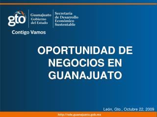 Lic. Héctor López Santillana Secretario de Desarrollo Económico Sustentable Octubre 2008