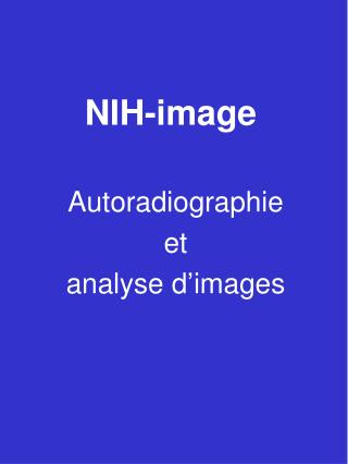 NIH-image