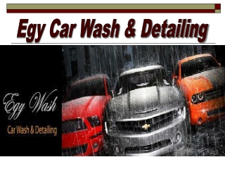 Mobile Car Wash Services