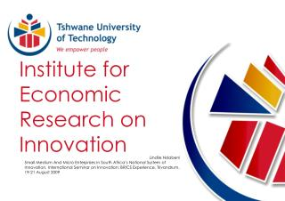 Institute for Economic Research on Innovation