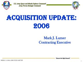 ACQUISITION UPDATE:  2006