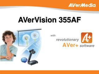 with revolutionary AVer+ software