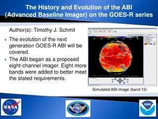 The History and Evolution of the ABI  (Advanced Baseline Imager) on the GOES-R series