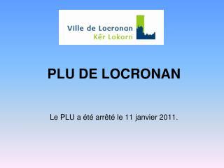 PLU DE LOCRONAN
