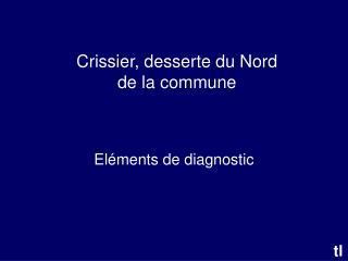 Crissier, desserte du Nord de la commune