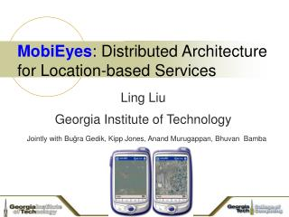 MobiEyes : Distributed Architecture for Location-based Services