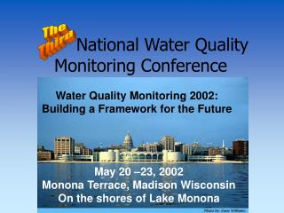 National Water Quality Monitoring Conference