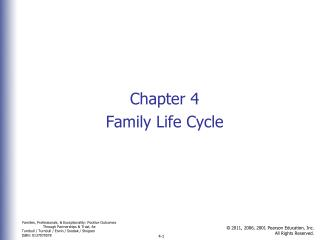 Chapter 4 Family Life Cycle